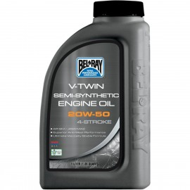 OIL VTWIN SEMI 20W50 1L