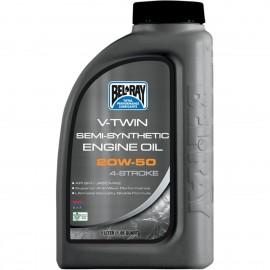 OIL VTWIN SEMI 20W50 1L