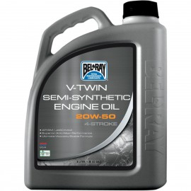 OIL VTWIN SEMI 20W50 4L