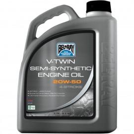 OIL VTWIN SEMI 20W50 4L