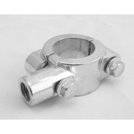 SUPPORT RETROVISEUR MOTO DIAM-10 MM CHROME